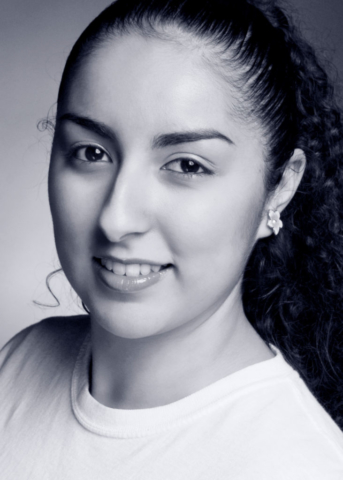 Black and white headshots for dancers
