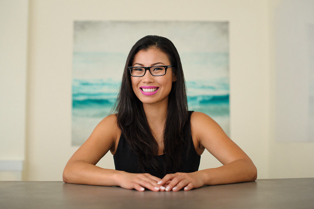 Female entrepreneur portrait