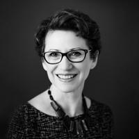 Black and white author portrait